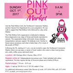 Pink Out the Market Flyer