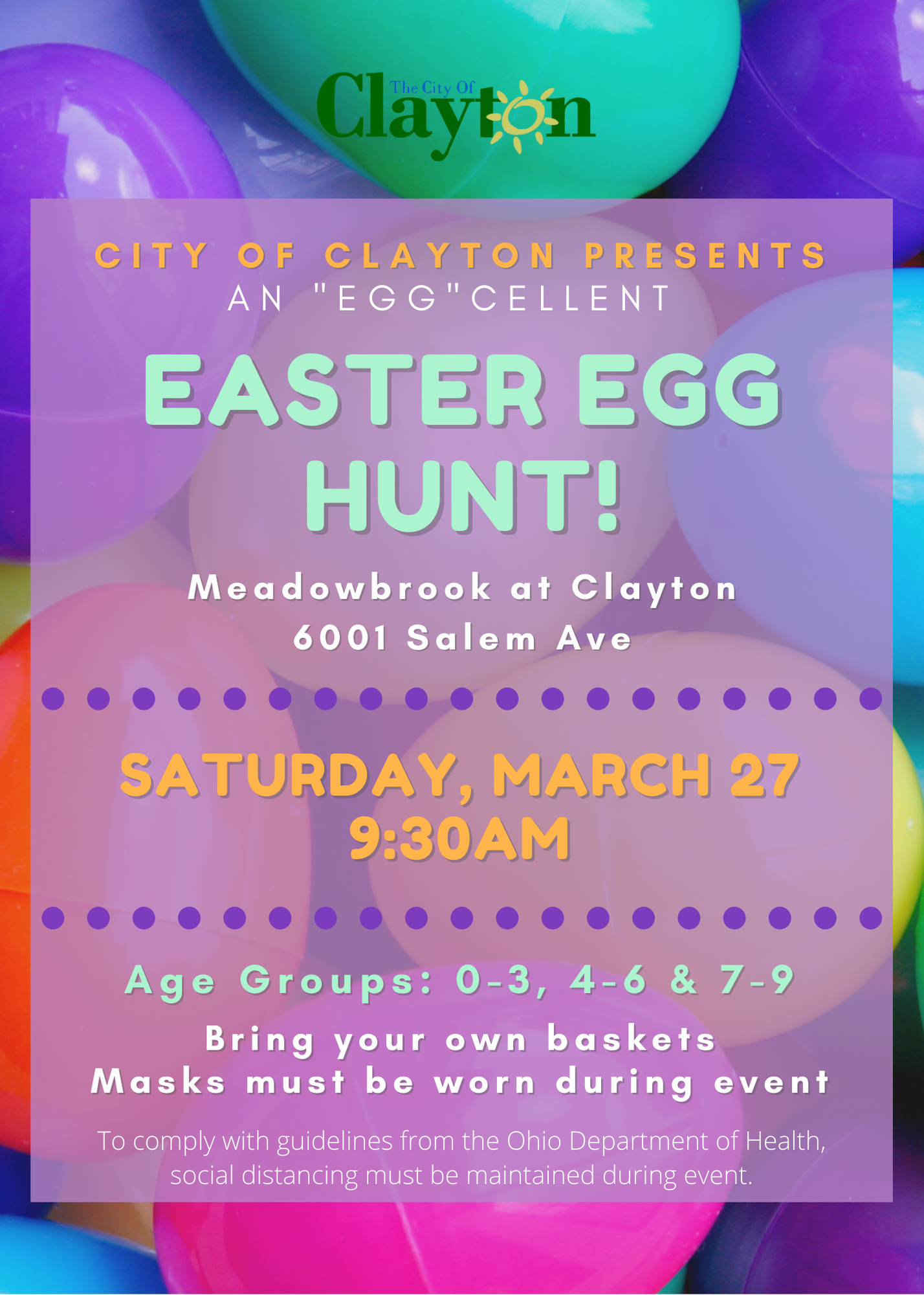 2021 Easter Egg Hunt Flyer