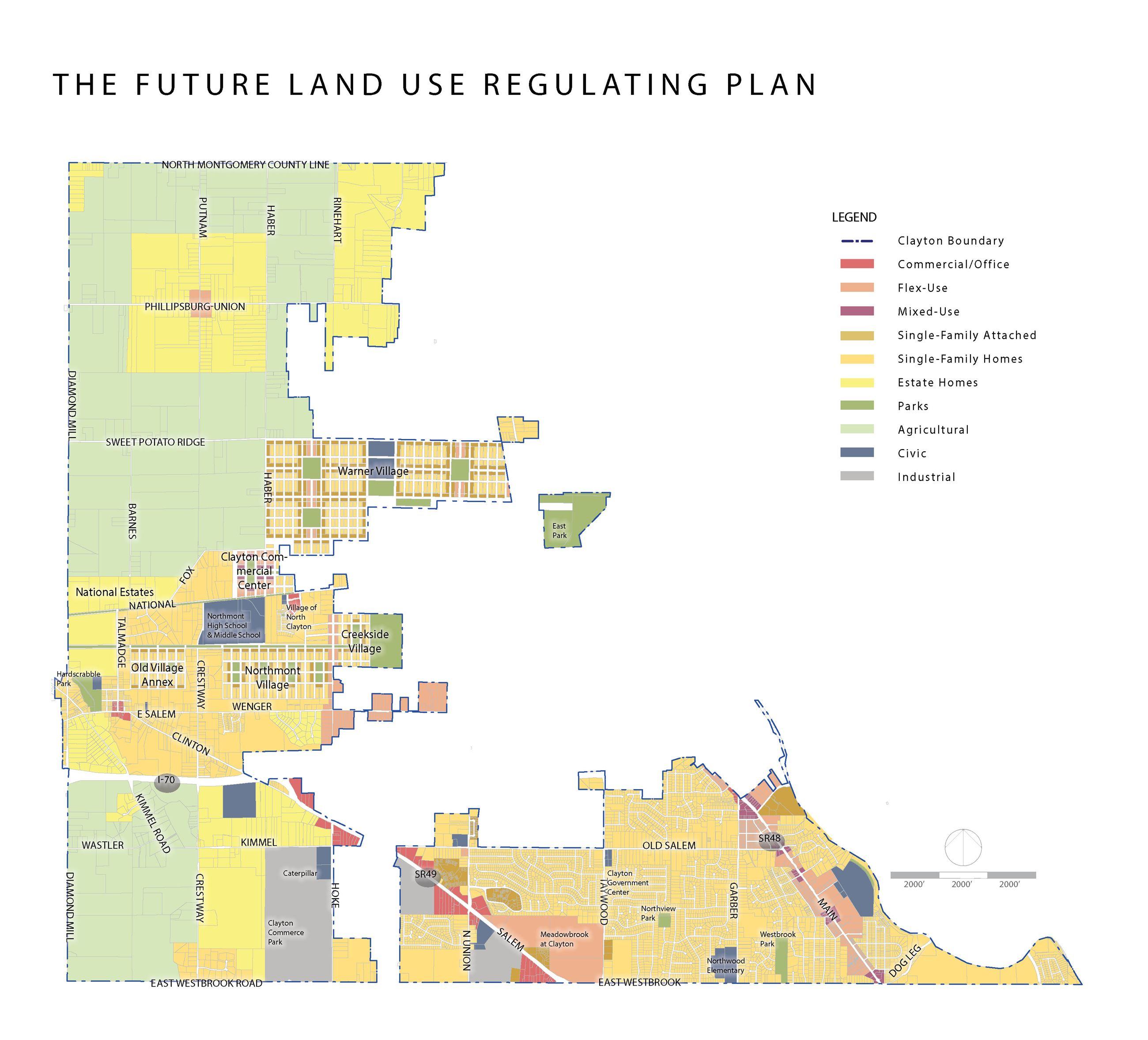 Future Land Use Plan Clayton Oh Official Website - Us-land-use-map